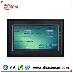 Registreertoestel van het Registreerapparaat van de Gegevens van de Overdracht WiFi van de Vertoning 4G GPRS van Rika Rk600-07A het Populaire LCD voor Automatisch Weerstation