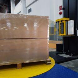 Super Power LLDPE упаковки поддона Wrap Jumbo Frames Stretch Film Roll Тип машины