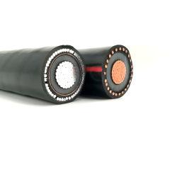 StaかSwaの低い中型の電圧鋼鉄テープ装甲地下のオーバーヘッド電線XLPEによって絶縁されるPVC外装のジャケットの銅のアルミニウム電線の電源コード