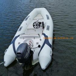 Offerta gonfiabile della barca della nervatura del PVC di Liya 3.8m per l'yacht di lusso