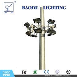 Illuminazione galvanizzata dell'albero della via metallo/dell'acciaio alta/palo chiaro con il certificato del Ce
