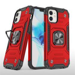 TPU PC 2 en 1 anneau magnétique de qualité militaire Armor cas Téléphone pour Moto G Fast pour Google Pixel pixel 4A 5G pour LG K51S K40s