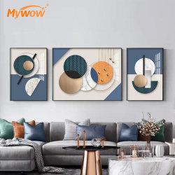 La mejor calidad de aceite de obras de arte moderno de diseño Popular pintura para la decoración de interiores