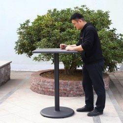 Mobilier extérieur moderne Table en métal de gros meubles jambes bar discothèque