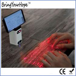 لاسلكيّة ليزر عرض [بلوتووث] لوحة مفاتيح فعليّة تحت أحمر لأنّ هاتف ([إكسه-لبك-م1])