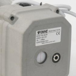 La norme ISO5211 DC24V de l'actionneur de soupape de commande électrique avec priorité manuelle