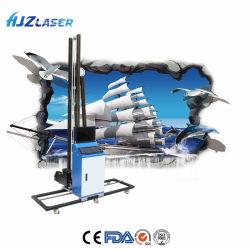 3D紫外線平らな情報処理機能をもった縦の壁プリンター、デジタルニスのインクジェット印字機は壁絵画機械に、指示する