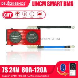 دالي SMART BMS PCB/PCBA/PCM 16s 10s 8s 4s 150A 200A LFPO4 لتخزين الدراجات الكهربائية/الطاقة الشمسية