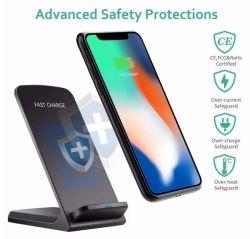 2020년 신규 도착 Amazon Anker 10W 무선 충전기 스탠드, Type-C Qi 인증 무선 충전기(iPhone 11용 Galaxy S9 S10