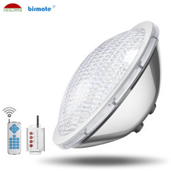 IP68 waterbestendig 100% RGB Synchronous Control 316L roestvrij staal 18W LED Lamp bij zwembad