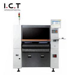 고속 정밀 SMT 라인 LED 인두기 기계, 완전 자동 한화 SMD 픽업 및 배치 기계