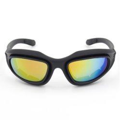 스포츠 유리 색안경은 렌즈 Anti-Fog 반대로 UV, 반대로 Scratc 옥외 자전거 승차 CS 전술상 방어적인 유리 기관자전차 안전 유리를 극화했다