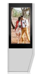 OEM ODM Idealizam 65 polegadas LCD de Chão mais vendida no visor do leitor de Publicidade Digital Signage quiosque de tela de toque LCD impermeável ao ar livre visor LED