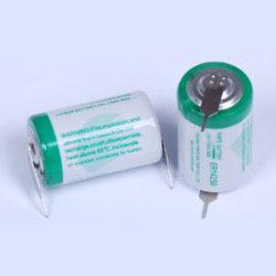Batería de litio de 1/2AA 3.6V 1.2AH ER14250
