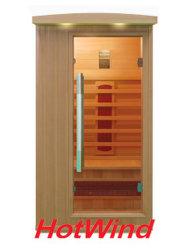 De verre Infrarode Houten Sauna van de Sauna voor Mensen Één (sek-BP1)