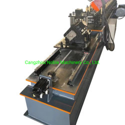 C 프로파일 롤 성형 기계 자동 C 스터드 및 트러스 알루미늄 스트립 천장 보드 롤 성형 기계 그리드 재고