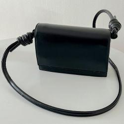 PU Leder modische schwarze Handtasche