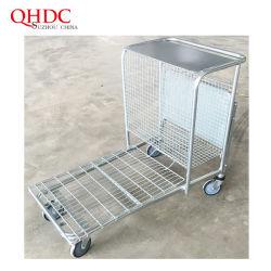 Rad-Lastwagen-Transport-Karren-Hochleistungslaufkatzen des Supermarkt-4
