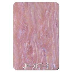 Folha de acrílico rosa para decoração de Toucador