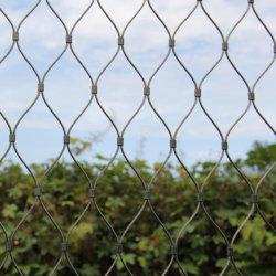 Edelstahl-Kabel-Seil-Ineinander greifen-Dekoration