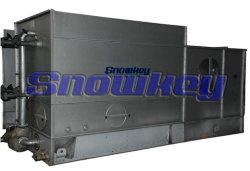 Condensatore evaporativo per cella frigorifera