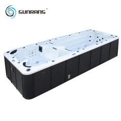 تصميم جديدة خارجيّ كبيرة منتجع مياه استشفائيّة تدليك [جكزّي] [سويمّينغ بوول] مع [بلبّوأ] نظامة