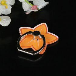 昇華カスタムロゴのアクリルのリングのセル携帯電話のホールダーのリングの電話指リングの立場の電話アクセサリの昇進のギフト