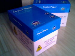 100% hölzerne Massen-wasserdichtes Kopierpapier für Drucken 80g