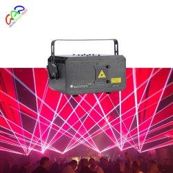 새로운 RGB 3W Stage Nightclub 풀 컬러 애니메이션 레이저 라이트 CE 인증(경제적 버전)