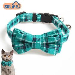 OEM花パターン強いウェビングペットのためのカスタム猫カラー