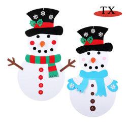 Árbol de Navidad artificiales, muñeco de nieve, Sockers, Decoración de Navidad