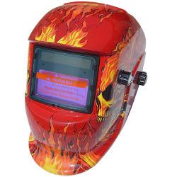 전문 용접 안전 완전 표면 헬멧 마스크 자동 Darking 용접 헬멧