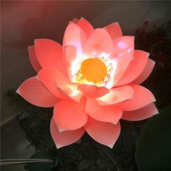 2020 новый продукт на открытом воздухе в альбомной ориентации динамического освещения керосиновых ламп Lotus форма декор лампа