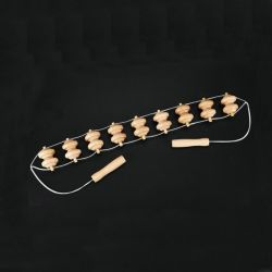 La madera, el cuerpo masajeador cordón spa masaje de espalda Correa JM280A