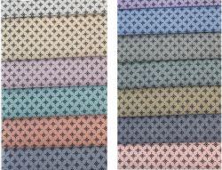 Gesponnen Baumwolle gedrucktes Gewebe für Hemd der beiläufigen Männer anpassen