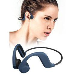 Hoogwaardige X9 8g Memory Bluetooth 5.0 Bone Conduction-oortelefoon Waterdichte sportheadset voor games