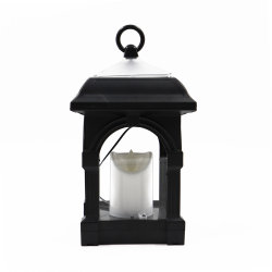 Outdoorのための太陽Hanging Lantern Light Swinging Candle