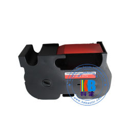 Fita térmica Vermelho Fluorescente Cor B700 de tinta compatíveis com cartucho de fita