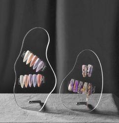 Acrylblad Acrylblad Nail Art Display onregelmatig bord