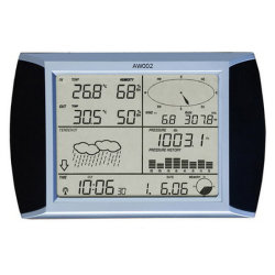 Solar Wireless Professional Touch Screen Weather Station mit PC-Schnittstelle