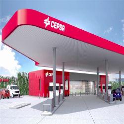 La estructura de la calidad de la estación de gasolina automático portátil, móvil de la estación de gasolina