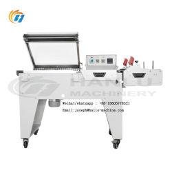 2 In1 L tipo contenitori di imballaggio della macchina di imballaggio con involucro termocontrattile del film di materia plastica del sigillatore di calore