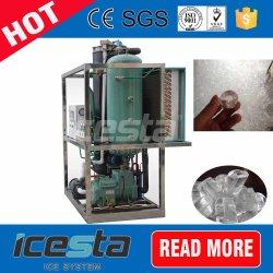 3 Ton inferior do tubo de gelo Maker a máquina com o Purificador de Água