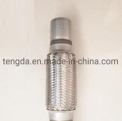 Alquiler de sistemas flexibles de acero inoxidable silencioso motor pequeño Auto Flex conjunta de interbloqueo de fuelle del tubo de escape Escape