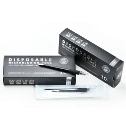 OEM Dmp05 Tato Eccentric Black Disposable Microblading Pen with Cap