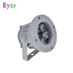 Vente chaude modèle RVB 3W/Spot LED 5 W la lumière de l'aluminium