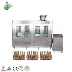 Автоматическая крышку наливной горловины расширительного бачка вина и бутылка пива машина/стеклянную бутылку шампанского заполнения машины