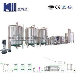 自動清浄器のクリーニングシステム完全なRO水フィルター生産機械装置のびんのミネラル純粋な飲み物水逆浸透の水処理設備