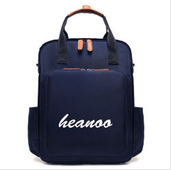 Grande capacité femelle à épaulement double Ordinateur Portable sac de voyage de retour Fashion étudiant
