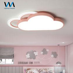 La luz de la nube creativa lindo cálida habitación del bebé la iluminación de techo